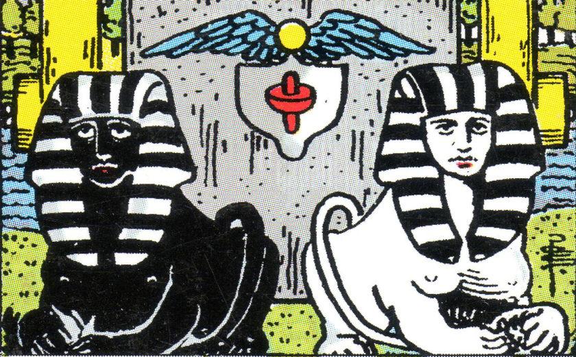 Tarot Tuesday:  Who's that guy?