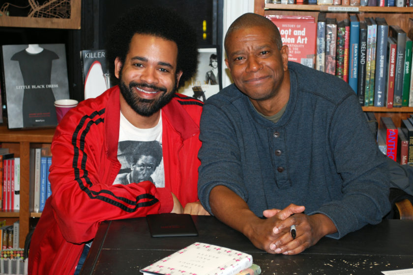 Me and Paul Beatty